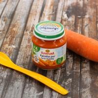 Babybrei Karotte Pur für Babys nach dem 4. Monat (125g)