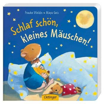 Vorlese Buch schlaf schön, kleines Mäuschen ab 18 Monate