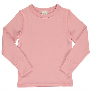Shirt altrosa langarm breite Armbündchen