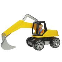 Truxx Bagger - Führerhaus zum Öffnen & Bespielen