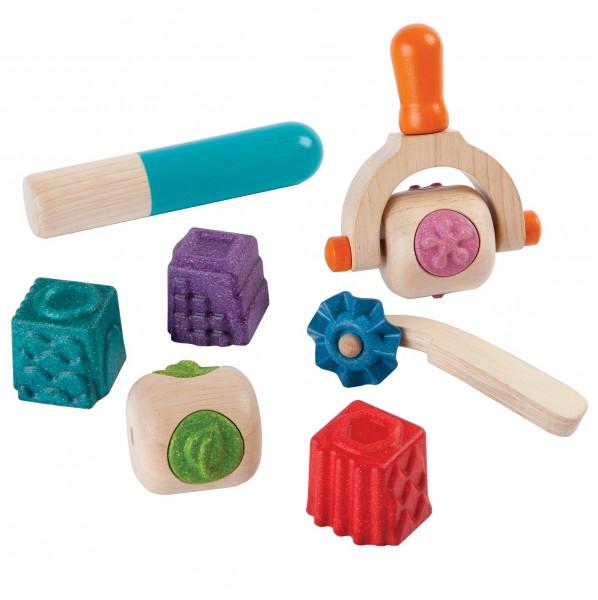 Knetspielzeug für kreative Gebilde + Muster