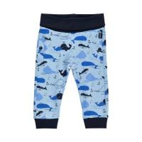 Babyhose Wale hellblau Bündchen
