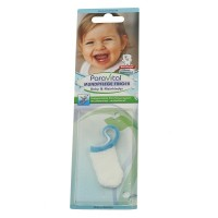 Milchzähne Pflegen Stofffinger blau ab 1. Zahn