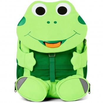 Kita Rucksack 3-6 Jahre Frosch neon hellgrün