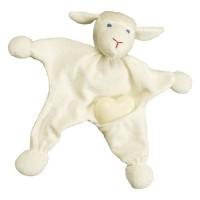 """Vorschau: BIO Waschlappen für Kinder incl. Schafsmilchseife """"Schaf"""""""