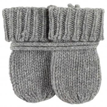 Baby Handschuhe in grau ohne Daumen