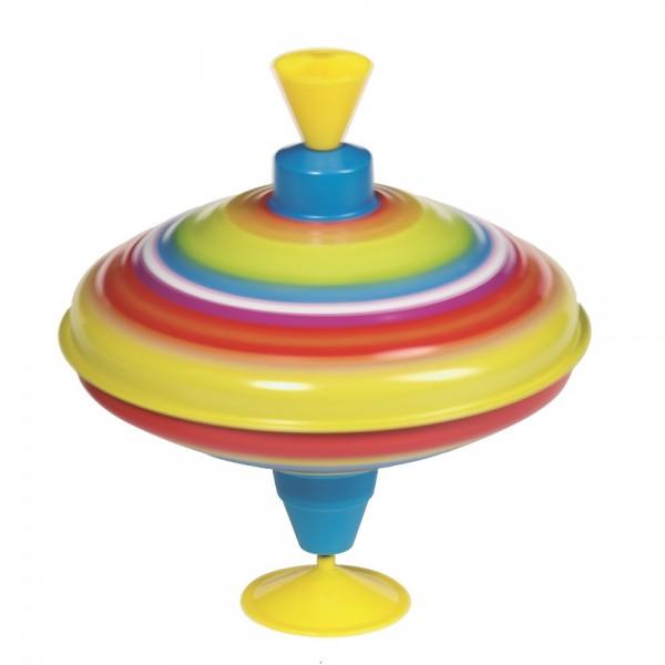 Brummkreisel Regenbogen mit Ton