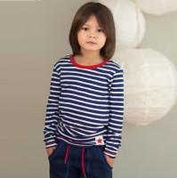 Modisches leichtes Bio Langarmshirt für Kinder
