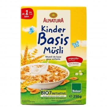 Basis Müsli Dinkel Hafer für Kinder ab 1 Jahr (250g)