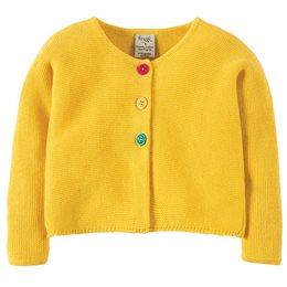 Baby Kinder Cardigan - gelb