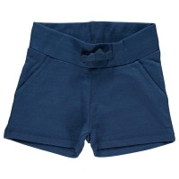 Sommerliche Mädchen Shorts - Sweat marine