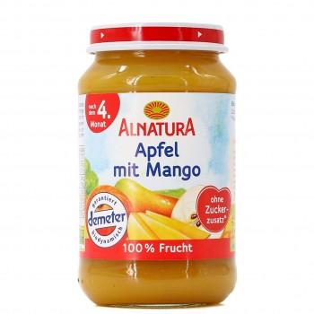 Apfel mit Mango für Babys nach dem 4. Monat (190g)