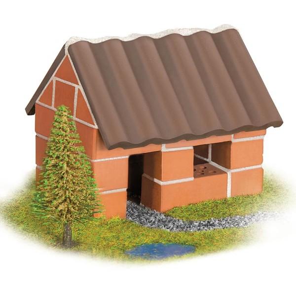 Steinbaukasten Starter Set Kleines Einfamilienhaus