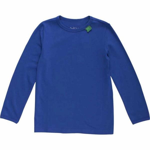 Klassisches Shirt uni royalblau