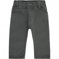 Baby  Outdoor  Übergangshose  Twill  in  anthrazit