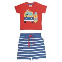 Vorschau: frugi Sommerkombi - Shirt & Hose