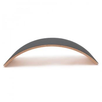 Wobbel Board pro VEGAN Filz grau 90 x 30 cm transparent