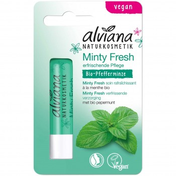 Naturkosmetik Lippenpflegestift Minty Fresh (4,5g)