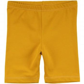 Edle Radlerhose elastisch senf-gelb