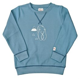 Leichtes Sweatshirt Junge Eisbär