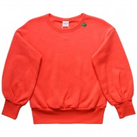 Extravaganter Sweat Pullover koralle