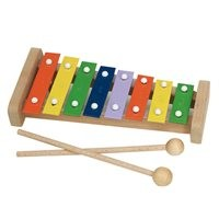 Glockenspiel pentatonisch 8 Stäbe