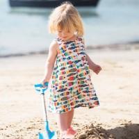 frugi Sommerkleid mit Knöpfen