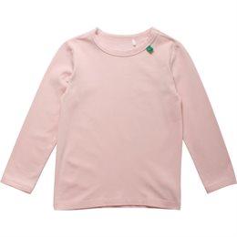 Baby pastellrosa Langarmshirt weich als Unterhemd oder Shirt