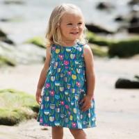 frugi Sommerkleid mit Knöpfen Tulpe