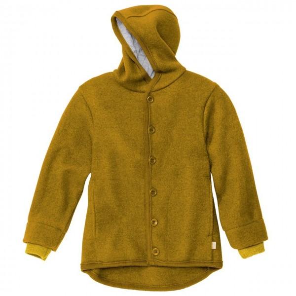 Walk-Jacke mit Knopfleiste in gold