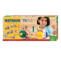 Vorschau: Matador Ki1 Holzspielzeug mit Hammer 70tlg