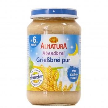 Abendbrei Grießbrei pur für Babys ab dem 6. Monat (190g)