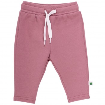 Robuste Sweathose slim fit in hellem lila