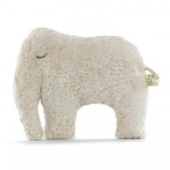 Kuschelkissen 1 Elefant dunkel 19 x 25 cm