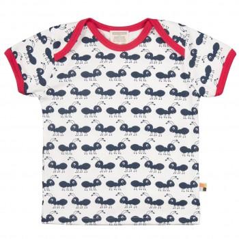 Ameisen-Druck T-Shirt navy