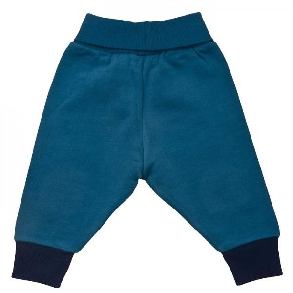 Warme Sweat Babyhose mit softem Leibbund + Kniepats