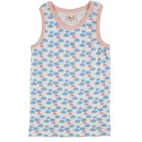 Bio Unterhemd für Mädchen Wolke