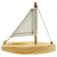 Holz Bausatz - Segelboot ab 4 Jahre