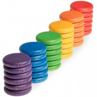 Coins 36er Set in 6 Farben – ab 18 Monaten