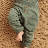 Babyhose Sweat khaki