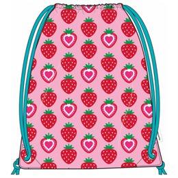 Turnbeutel Sporttasche Erdbeere