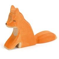 Fuchs Holzfigur 7 cm hoch