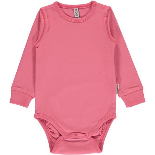 Mädchen Body uni in rosa-pink