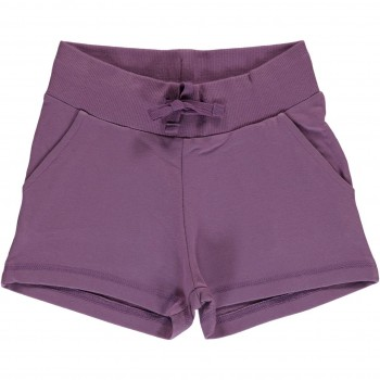 Kurze Sweat Shorts altlila