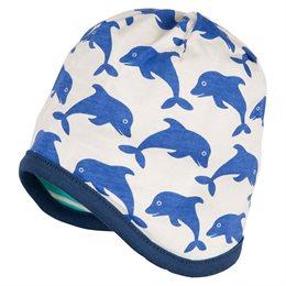 Übergangszeit Wendemütze Delfine