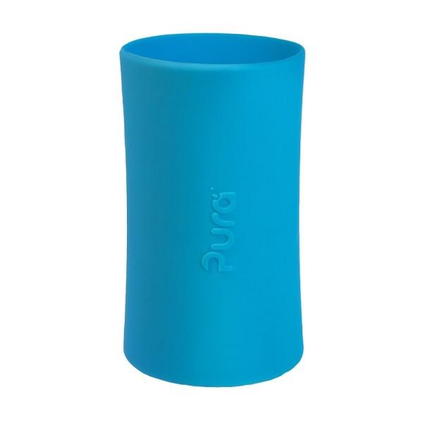 Pura kiki Silikonhülle groß 325 ml - blau