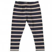 Leggings Streifen in navy-creme