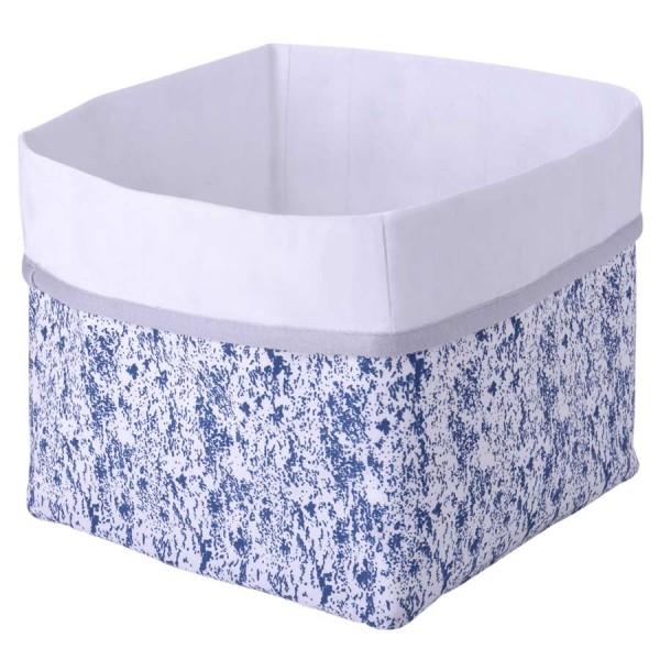 Wickeltisch blaue Aufbewahrungsbox Kikadu