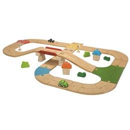 Straßensystem 42-teilig, für die Spielwelt