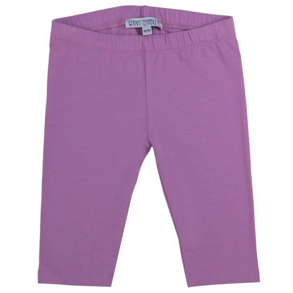 Lavendel 3/4 Leggings uni
